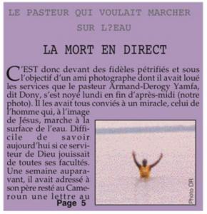 L'Union (Gabon), 31 augustus 2006