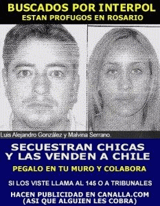 Buscados por Interpol