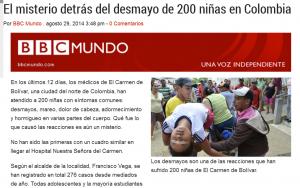 BBC Mundo, 29 augustus 2014