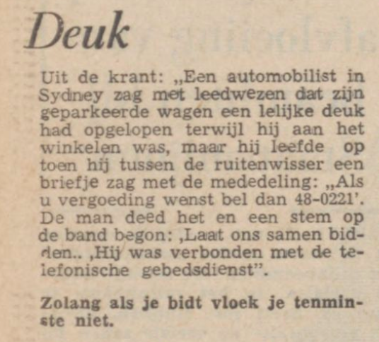 Limburgsch Dagblad, 25 nov. 1966